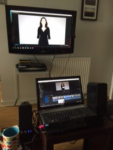 Dual Screen Editing