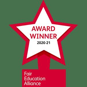 FEA award winner badge 2020