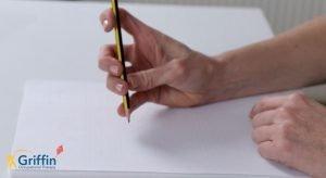 Immature pencil grasp