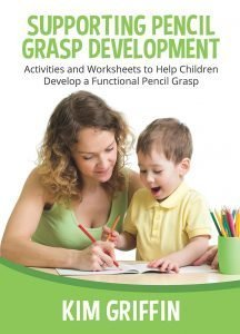 Cover for Supporting Pencil Grasp Development