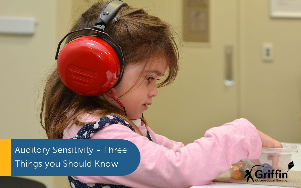 auditory sensitivity girl with headphones