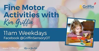 girl cutting text free fine motor activities with kim