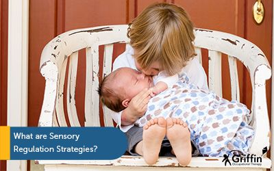 child holding sibling text what is sensory regulation